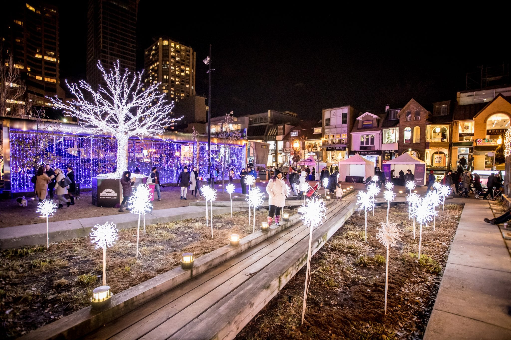 The Village of Yorkville Park Holiday Magic 2018 Lighting Display