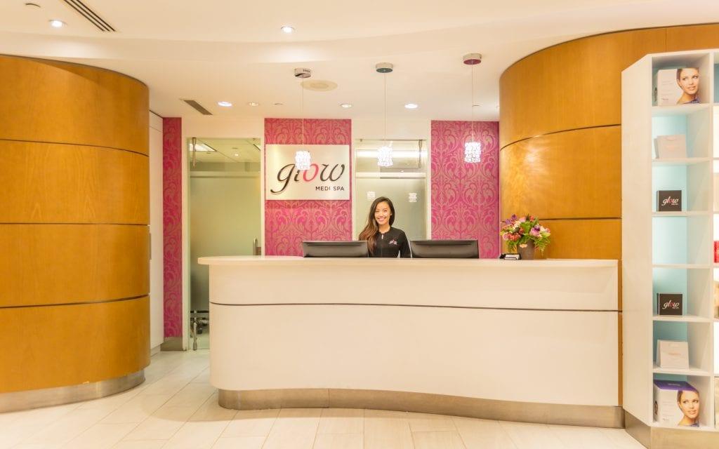 Glow Medi Spa Reception