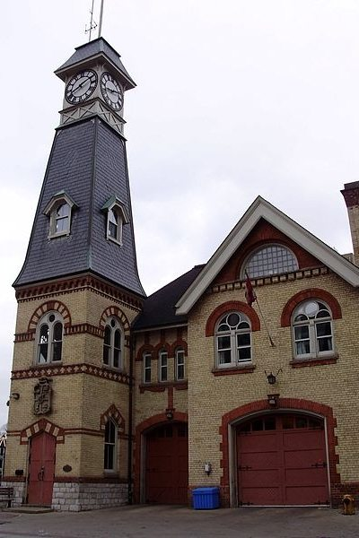 Yorkville Fire Hall