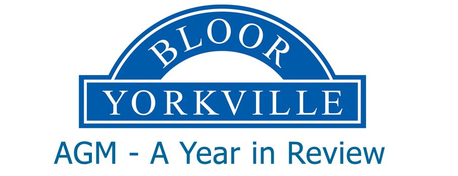 Bloor-Yorkville and Bloor Street BIAs AGM – November 8th