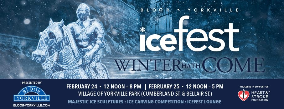A Walk Down Memory Lane – Bloor-Yorkville Icefest