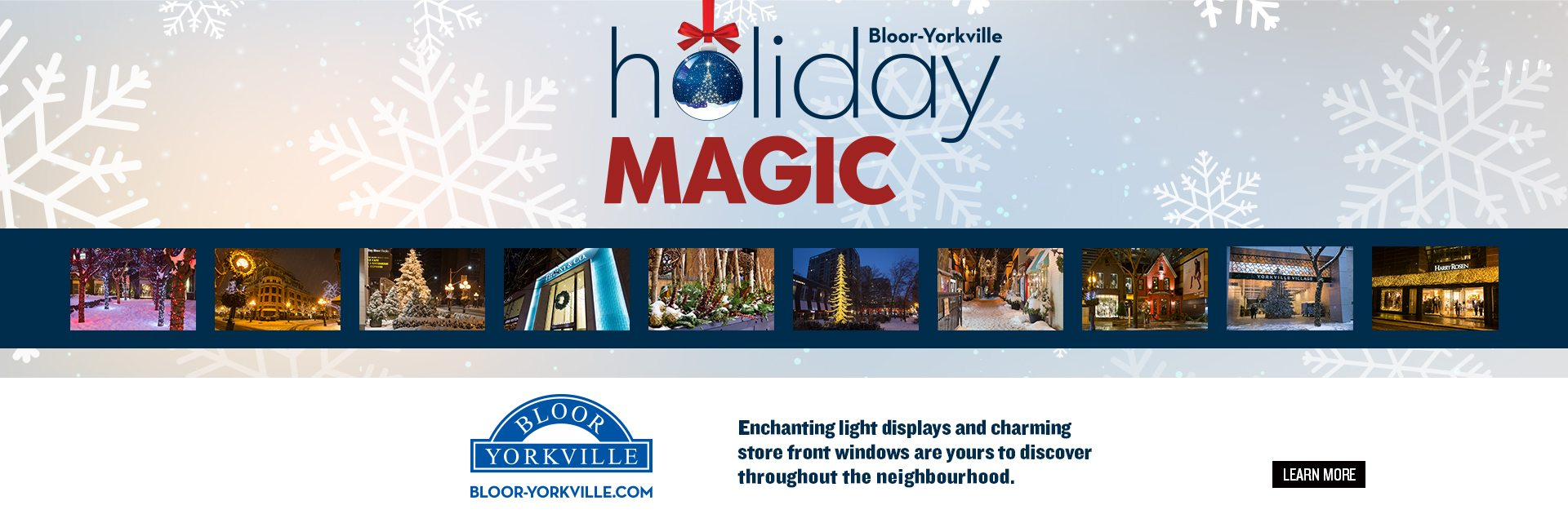 Holiday Magic Continues in Bloor-Yorkville!