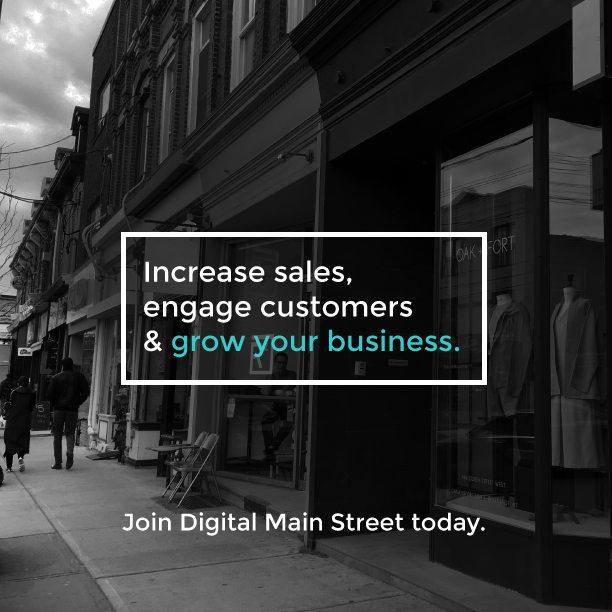 Three Reasons to Join Digital Main Street