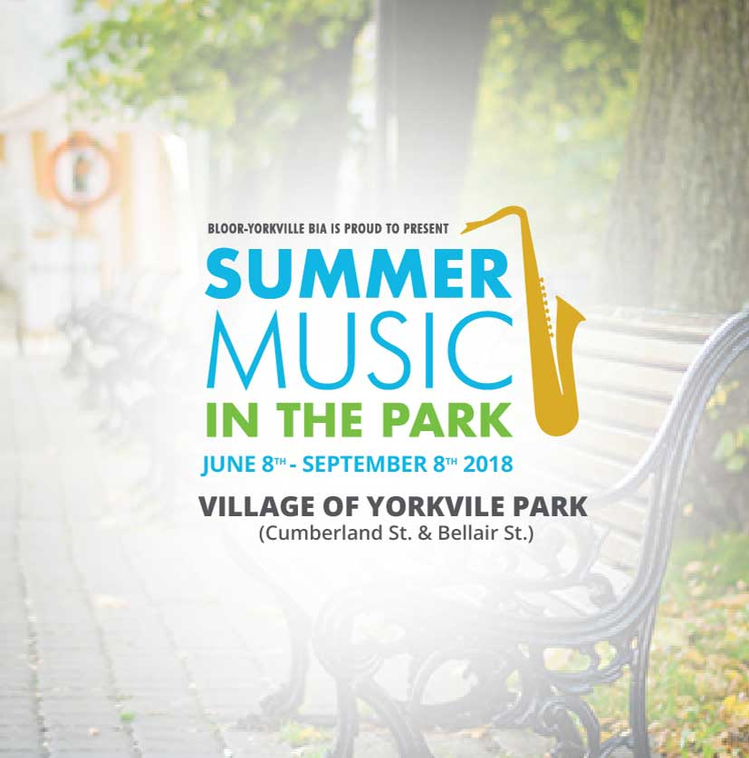 Summer Music in the Park 2018