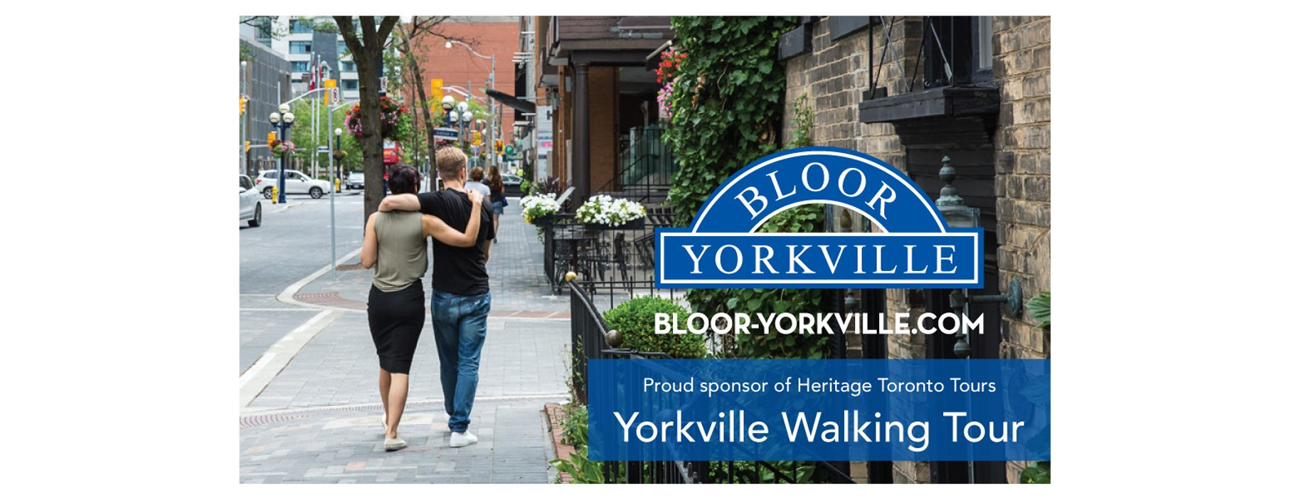 Heritage Toronto Tours – Yorkville: From Counter-culture to Couture