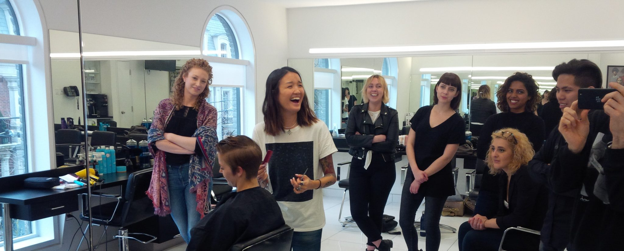 Unique in Yorkville: The Sassoon Academy