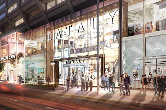 Eataly to Open First Canadian Location in Bloor-Yorkville!