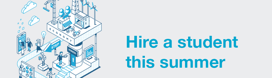 Looking for help this summer? Why not hire a student?