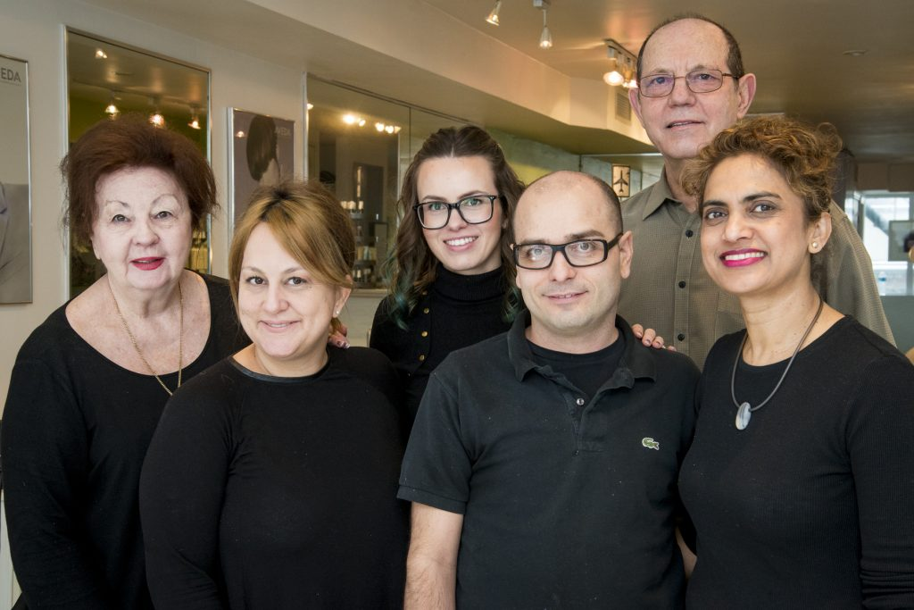 Photo of Salon Staff.