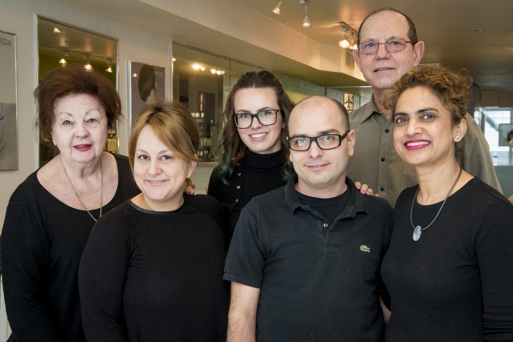 Photo of Salon Staff.