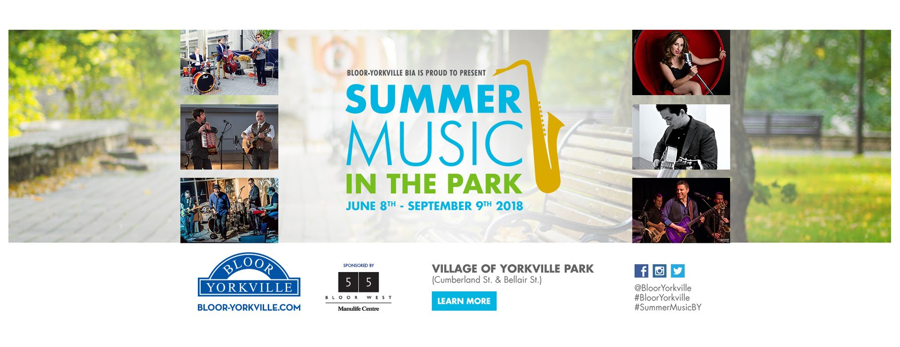 Summer Music in the Park Returns June 8th!