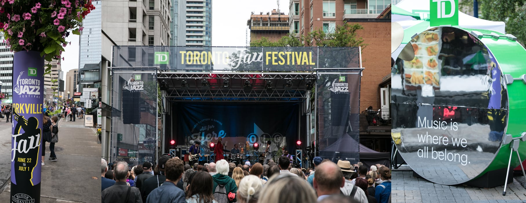 Thousands Flocked to Bloor-Yorkville for the TD Toronto Jazz Festival