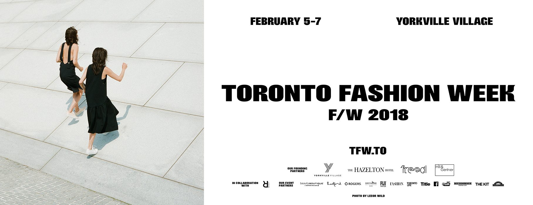 Toronto Fashion Week Returns to Bloor-Yorkville Next Week!