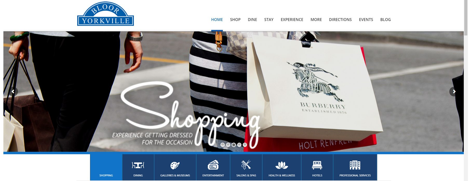 Announcing the NEW Bloor-Yorkville BIA Website!