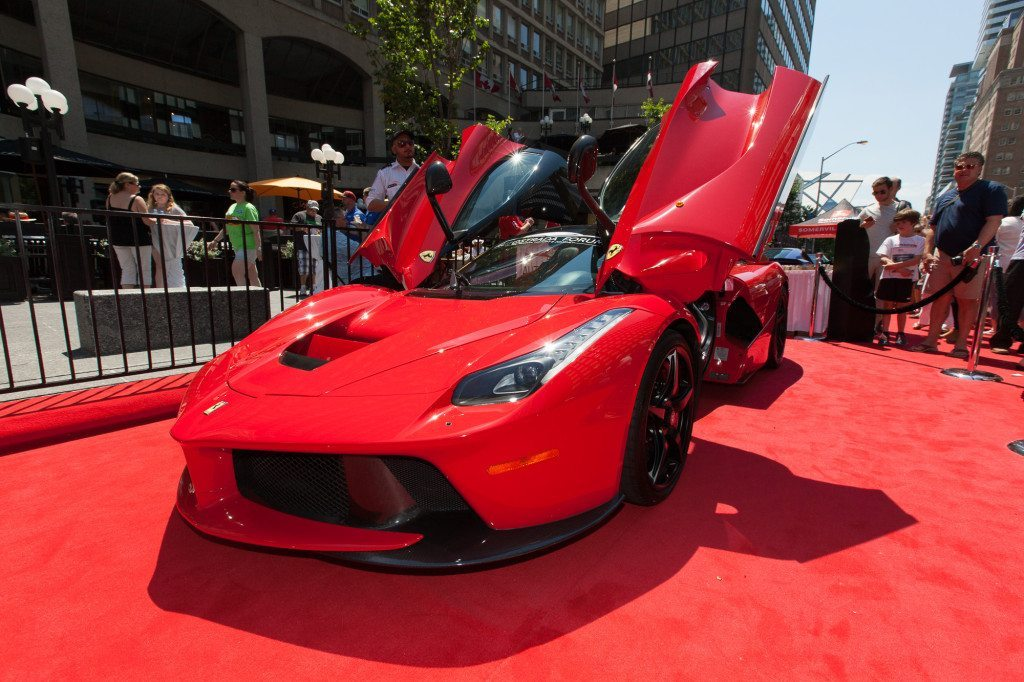 Ferarri Laferarri on the Red Carpet