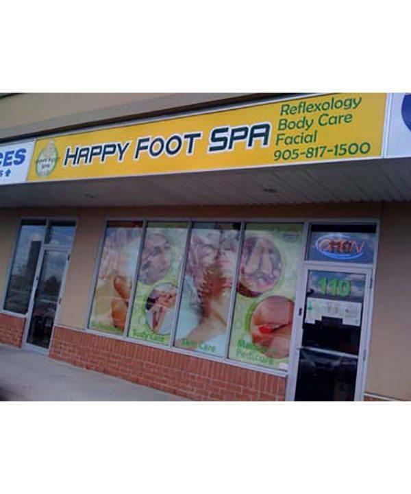 happy foot spa bloor yorkville. Black Bedroom Furniture Sets. Home Design Ideas
