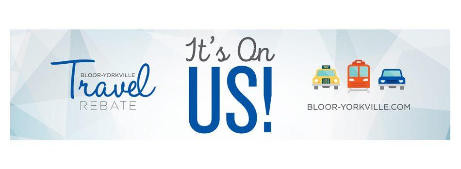 Bloor-Yorkville Travel Rebate Program – All Members Can Take Part!