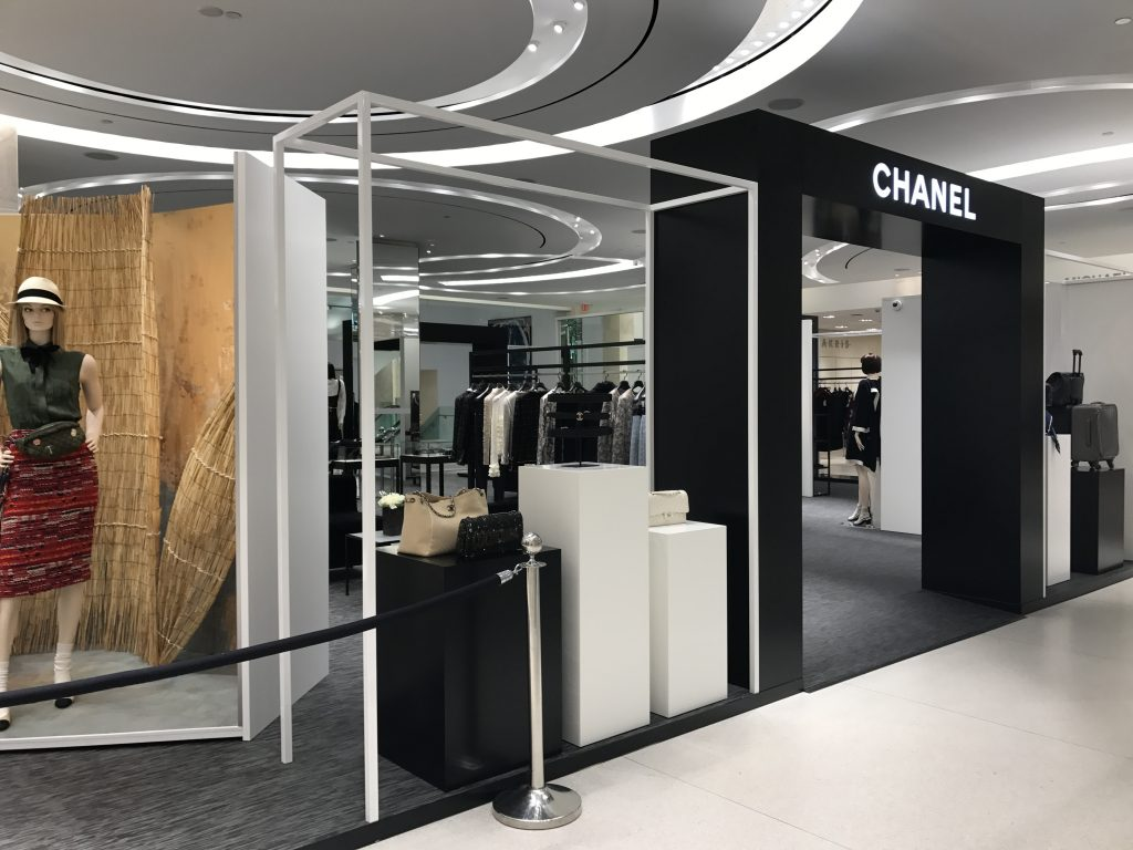Chanel pop up