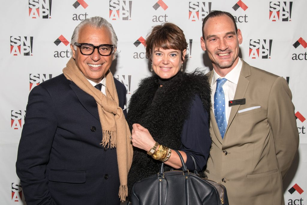 SNAP Co-Chairs Joe Mimran and Kim Newport, ACT Executive Director John Maxwell